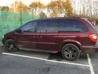 Chrysler grand voyager: seven seater family car, lots of space! 11 months mot!