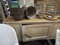 STRIP top, painted cupboard