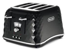 Delonghi Black diamond toaster
