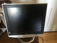 """17"""" Flatron M1710A monitor TV and user manual"""