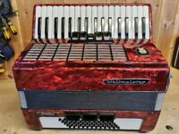 Weltmeister Stella, REDUCED IN PRICE, 60 Bass, 3 Voice (LMM), Piano Accordion. Lessons Available.