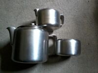 Old Hall stainless steel items