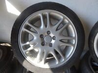 "17"" TRANSIT CONNECT ALLOYS just been refurbd 4 NEW TYRES £185 ono open sat 9am-5pm"
