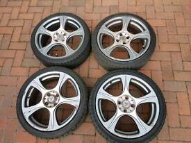 4 stud Alloys with good tyres