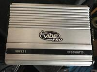 Lanzar vibe pro 2200 watts amplifier
