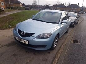Mazda3 £500. No m.o.t , exterior damage