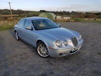 Jaguar S-Type Diesel Automatic long MOT (may px Audi A4 A6 Bmw 520 530 Merc C220)