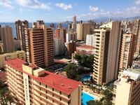 BENIDORM PENTHOUSE for holiday 2 bedrooms with private terrace and BBQ near the beach