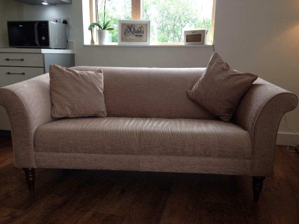 Unwanted John Lewis Molly Sofa Brand New Soft Pink
