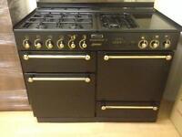 Black Gas Cooker (Duel Fuel)