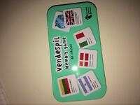 Geographical memory game (price in description)