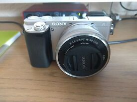 Sony A6000 Camera - Silver BODY ONLY