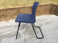 School chairs 40 cm high - stack of 8