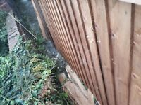 Timber fence / Fire wood / Project supplies