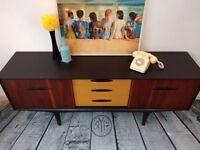 MCM Vintage/Retro Jentique Sideboard Hand Painted