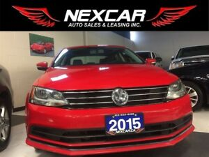 2015 Volkswagen Jetta 2.0TDI HIGHLINE 6SPEED LEATHER BACKUP CAME