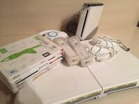 Nintendo Wii Console, Wii Fit and Games Bundle