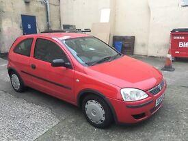 Vauxhall Corsa 1L great first car, cheap!! LONG MOT!! £550
