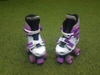 Osprey adjustable quad skates
