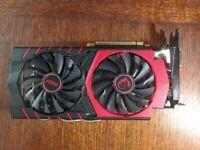 MSI GeForce GTX 960 GAMING 2G graphics card