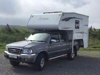 * RESERVED* Northstar 700DL 2 berth Demountable with Ford Ranger XLT Thunder 4WD pick-up truck
