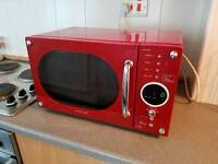Daewoo Red 800w Microwave Oven only £20 !