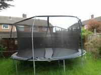large 12 foot trampoline