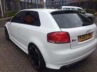 AUDI S3 QUATTRO WHITE £6150