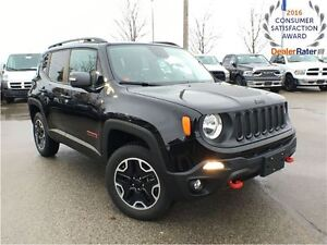 2016 Jeep Renegade DEMO*ONLY 4030 KMS*TRAILHAWK*COLD WEATHER GRO