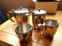 NEW, 4pcs stainless steel set