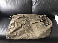 Army kit bag / duffle bag