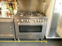Delonghi Stainless Steel Gas Range Cooker