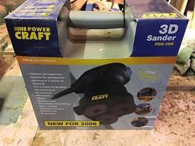 Powercraft 3D sander brand new in box