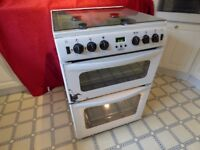 Belling 60cm Gas Cooker White Model GT721 - Year 2014 Little Use