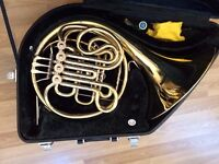 Yamaha 667 double french horn (and case) - excellent condition