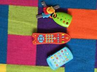 ELC toy keys and remotes