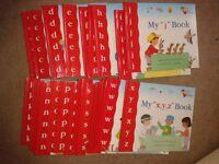 childrens alphabet book set