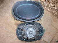 car stereo speakers 6*9 420 watt vgc loud