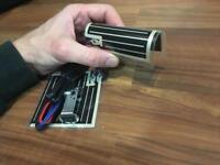 Heated motorcycle grip kit