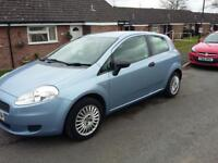 Fiat punto 1.2 07 reg low mileage one lady owner from new