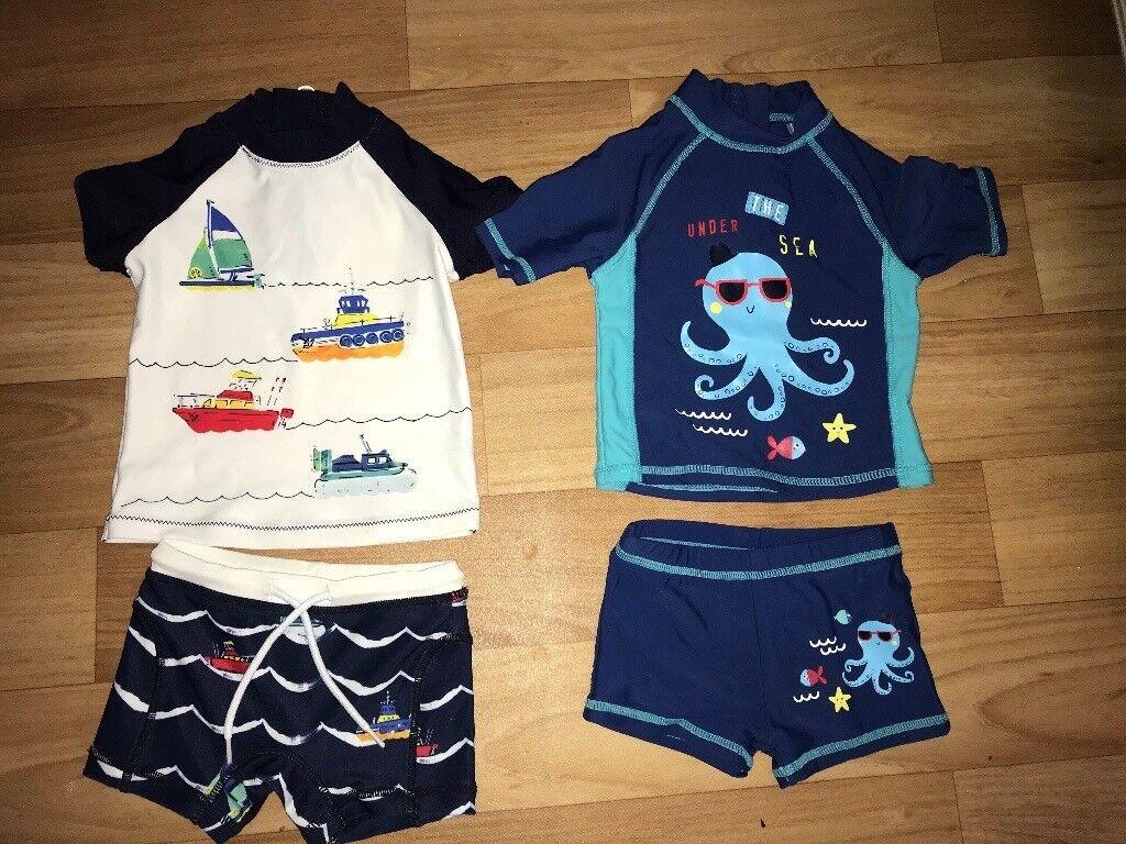 9b523688c5002 2 baby boy swim suits 3-6 months | in Bearsden, Glasgow | Gumtree