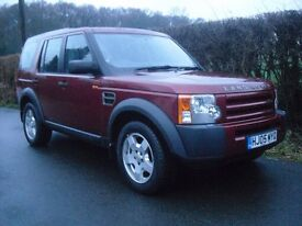 Land Rover Discovery 3 TDV6 S - one owner, full service history, new MOT