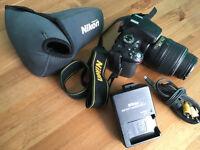 Nikon D5100 DSLR Camera Body 16.2 million, Nikon DX AF-S Nikkor 18-55 mm lens + Accessories