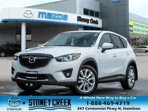 2013 Mazda CX-5 GT AWD Lether  Sunroof Keyless Accident Free
