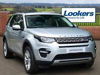 Land Rover Discovery Sport TD4 HSE (silver) 2016-06-17