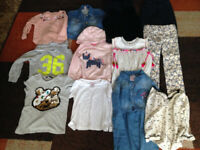 Girls 4-5 Years Bundle Denim Dress and Jacket Jeans Jumpers Hooded Sweatshirts ETC Will Post