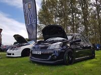 Modified renault clio 197. Track ready