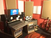 Recording/production studio with experienced and friendly engineer, great sounding and affordable