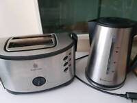 Russell hobs kettle and toaster