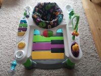 Fisher Price Step n Play Little Superstar Piano